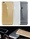 BIG D High Quality TPU Clear Soft Back Case for iPhone 6(Assorted Color)