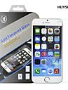 huyshe легкая установка 0,33 мм анти-отпечатков пальцев против царапин закаленным протектор экрана стекло для Iphone 6s / 6