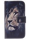 Pour Samsung Galaxy Coque Porte Carte Avec Support Clapet Motif Coque Coque Integrale Coque Animal Cuir PU pour Samsung Core Prime