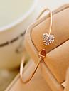Manchettes Bracelets Strass Original Mode Forme de Coeur Bijoux Ecran couleur Bijoux 1pc