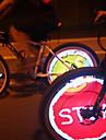 Luces para bicicleta , luces de la rueda - 4 o Mas Modo 100 Lumens programable PC USB Ciclismo/Bicicleta plata Bicicleta Yueqi 3