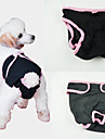 Dog Pants Blue / Purple / Black / Pink Dog Clothes Spring/Fall Solid