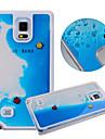 Per Samsung Galaxy Custodia Liquido a cascata Custodia Custodia posteriore Custodia Cartone animato PC Samsung S5