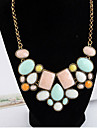 Necklace Statement Necklaces Jewelry Wedding / Party / Daily / Casual Fashion Alloy Gold 1pc Gift