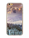 Lin Snow Pattern acrylic Hard Case for  iPhone 6 Plus