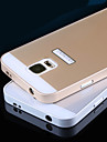 Metal Frame Acrylic Mirror Backplane Metal Hard Case for Samsung Galaxy S5 i9600