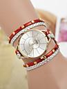 Hot Light Version Diamond Bracelet Watch Women\'s Three Ring Winding Watch