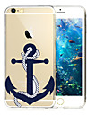 For iPhone 7 7 Plus 6s 6 Plus Case Transparent / Pattern TPU Case Back Cover Case Anchor