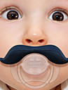 Silicone Infant Baby Kid Pacifier Nipples Mustache Beard