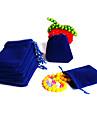 Чехлы для бижутерии Ткань 1 комплект Тёмно-синий