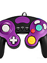 Wired Game Controller for Nintendo GameCube / Wii Console - Black+Purple
