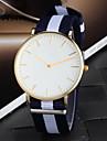 Men's Colorful Fabric Simple Dial Casual Quartz Watch Wrist Watch Cool Watch Unique Watch Fashion Watch