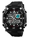SKMEI Мужской Спортивные часы Наручные часы LCD Календарь Секундомер Защита от влаги С двумя часовыми поясами тревога Спортивные часы