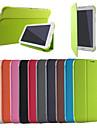 affaires ultra mince en cuir mince affaire a puce couverture de livre pour / onglet 3 Lite T110 de Samsung Galaxy Tab 7.0 3 T210 / onglet