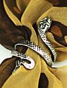 Кольца Для вечеринок / Повседневные / Спорт Бижутерия Сплав Пара Массивные кольца 1шт,8 Золотой / Серебряный