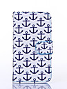 Anchor Pattern PU Leather Full Body Case with Stand for Multiple Samsung Galaxy S4/S5/S6/S6Edge
