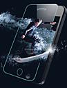 hd explosion de arco borde templado pelicula protectora de cristal para iphone 5 / 5s