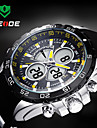 WEIDE® Men Sporty Analog Digital Watch Rubber Strap Stopwatch/Alarm Backlight/Waterproof Wrist Watch Cool Watch Unique Watch Fashion Watch