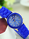 Women's New Korean Fashion Small Dial Geneva Silicone Wrist Watch Cool Watches Unique Watches