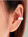 Earring Ear Cuffs Jewelry Wedding / Party / Daily / Casual Alloy 1pc Silver