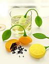 силиконовые формы лимона в компаниях изредка чайник чашка травяной чай фильтр фильтр заварки мешок (случайный цвет)