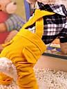 Chien Costume / Combinaison-pantalon Rouge / Noir Vetements pour Chien Hiver / Printemps/Automne Tartan Cosplay / Decontracte / Quotidien