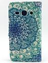 Для Кейс для  Samsung Galaxy Кошелек / Бумажник для карт / со стендом / Флип Кейс для Чехол Кейс для Мандала Искусственная кожа Samsung
