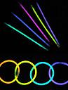 100本グローライトスティックパーティー着色glowstick蛍光リング