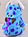 Cat / Dog Costume / Coat / Hoodie / Clothes/Jumpsuit Blue Winter Animal / Cartoon / Halloween Wedding / Cosplay