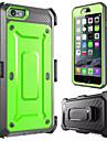 gota telefone resistência caso gota seguinte loricated para iphone 6 (cores sortidas)