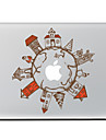 The Global Village Decorative Skin Sticker for MacBook Air/Pro/Pro with Retina Display