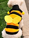 Cat Dog Costume Hoodie Yellow Dog Clothes Winter Spring/Fall Animal Cute Cosplay