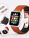 Watch Band for Apple Watch 3 42mm 38mm Genuine leather WatchBand Butterfly Buckle