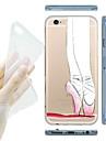 MAYCARI® Ballet Dancer Transparent Soft TPU Back Case for iPhone 6