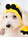 Chat / Chien Bandanas & Chapeaux Jaune Hiver Mariage / Cosplay