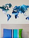 Карта мира планеты стены стикеры наклейки искусства