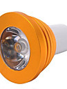 5W E14 / GU10 / E26/E27 LED-spotpaerer MR16 1 Hoeyeffekts-LED 300 lm RGB Dimbar / Fjernstyrt AC 85-265 V 1 stk.
