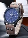 Sports Leather Band Watches Men Twill Digital Scale Single Calendar Quartz Neutral Fashion Watch Wrist Watch Cool Watch Unique Watch