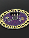Плата  Lilypad ATmega328P для развития Arduino - фиолетовый + золото
