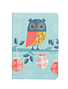 Owl Pattern PU Leather Full Body Case with Stand Slot for iPad mini/iPad mini 2/iPad mini 3