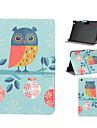 Owl Pattern PU Leather Full Body Case with Stand Slot for iPad mini/iPad mini 2/iPad mini 3