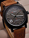 Curren 8139 Dial Brown Leather Strap Business Clock Army Military Wristwatches Quartz Male Casual Men Women Watch Cool Watch Unique Watch
