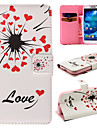 Specially Designed Dandelion PU Leather with Cards Full Body Case for Samsung Galaxy S4 I9500