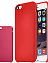 For iPhone 6 Case / iPhone 6 Plus Case Shockproof Case Back Cover Case Solid Color Hard PU Leather iPhone 6s Plus/6 Plus / iPhone 6s/6