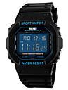 Hommes Suivre Numerique Montre de Sport LCD / Calendrier / Chronographe / Etanche / penggera Caoutchouc Bande Bracelet Montre