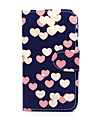 For Nokia Case Wallet / Card Holder / with Stand Case Full Body Case Heart Hard PU Leather Nokia Nokia Lumia 635