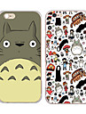 Pour Coque iPhone 6 Coques iPhone 6 Plus Motif Coque Coque Arriere Coque Dessin Anime Flexible PUT pour iPhone 6s Plus/6 Plus iPhone 6s/6