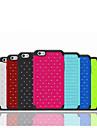Для Кейс для iPhone 6 / Кейс для iPhone 6 Plus Стразы Кейс для Задняя крышка Кейс для Один цвет Мягкий СиликонiPhone 6s Plus/6 Plus /