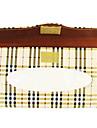 caixa de tecido viseira papel titular guardanapo couro sol do carro auto acessorios