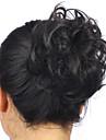 mulheres elegante cauda de ponei quentes clipe em no bolo cabelo peruca de cabelo sintetico extensao scrunchie